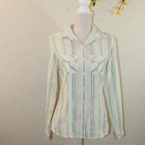 Patagonia Women's Button Down Stripe Shirt…